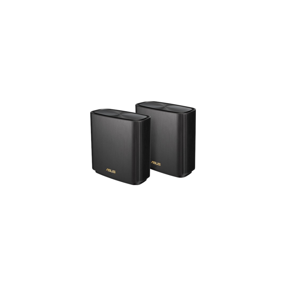 A large main feature product image of Asus ZenWiFi XT8 AX6600 Tri-Band Mesh Wireless System