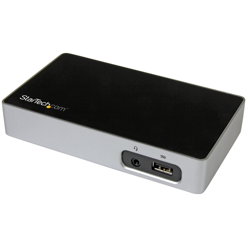 A large main feature product image of Startech Universal USB 3.0 Laptop Docking Station for Hot Desks-4K DP