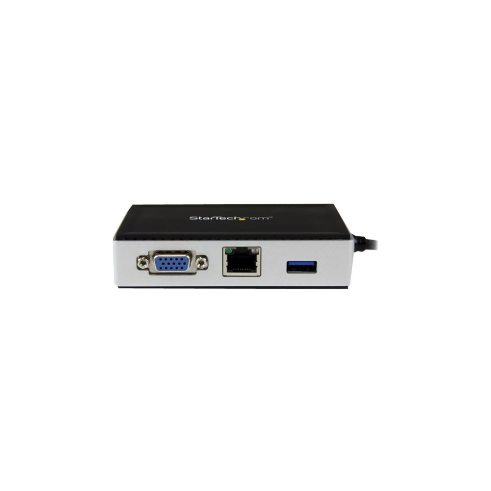 A large main feature product image of Startech Portable Laptop Docking Station - VGA - USB 3.0 Laptop Dock