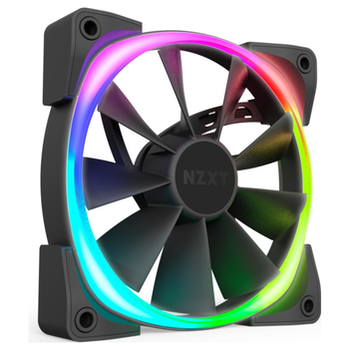 Product image of NZXT Aer2  RGB 140mm Case Fan - Click for product page of NZXT Aer2  RGB 140mm Case Fan