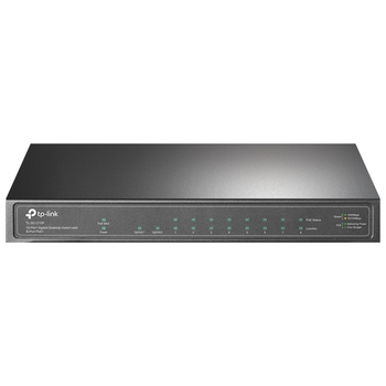 Product image of TP-LINK SG1210P 10-Port Gigabit Ethernet Switch w/ 8-Port PoE - Click for product page of TP-LINK SG1210P 10-Port Gigabit Ethernet Switch w/ 8-Port PoE
