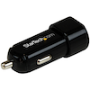 A product image of Startech 2 port USB Car Charger for Apple & Android Devices 17W 3.4A