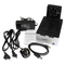 A small tile product image of Startech USB 3.0 Dual SATA HDD Dock w/ Fast Charge Hub & UASP - Black