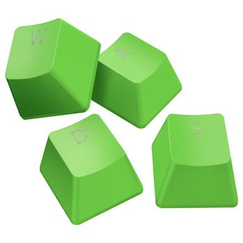 Product image of Razer PBT Keycap Upgrade Set - Green - Click for product page of Razer PBT Keycap Upgrade Set - Green