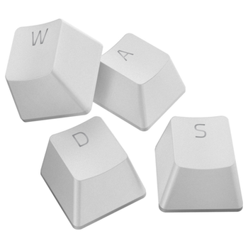 Product image of Razer PBT Keycap Upgrade Set - Mercury White - Click for product page of Razer PBT Keycap Upgrade Set - Mercury White