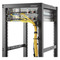 A small tile product image of Startech Rack Cable Organizer D-Ring w/ Flexible Opening - Small
