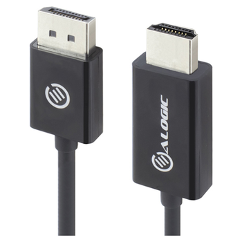 Product image of EX-DEMO ALOGIC Elements DisplayPort to HDMI 1m Cable - Click for product page of EX-DEMO ALOGIC Elements DisplayPort to HDMI 1m Cable