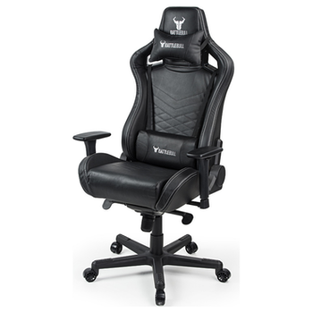 Product image of EX-DEMO BattleBull Rider Gaming Chair Black Leather - Click for product page of EX-DEMO BattleBull Rider Gaming Chair Black Leather