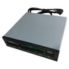 """A product image of Astrotek 3.5"""" Internal Card Reader with USB2.0 Port"""