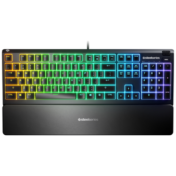 Product image of SteelSeries Apex 3 Water Resistant Gaming Keyboard - Click for product page of SteelSeries Apex 3 Water Resistant Gaming Keyboard