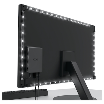"""Product image of NZXT Hue 2 Ambient RGB 26""""-32"""" Ultrawide Monitor Lighting Kit  - Click for product page of NZXT Hue 2 Ambient RGB 26""""-32"""" Ultrawide Monitor Lighting Kit"""