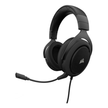 Product image of EX-DEMO Corsair Gaming HS50 Carbon Stereo Gaming Headset - Click for product page of EX-DEMO Corsair Gaming HS50 Carbon Stereo Gaming Headset