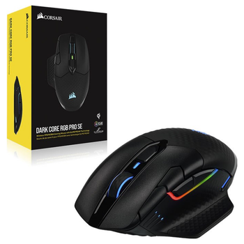 Product image of Corsair Dark Core RGB SE Pro Gaming Mouse - Click for product page of Corsair Dark Core RGB SE Pro Gaming Mouse