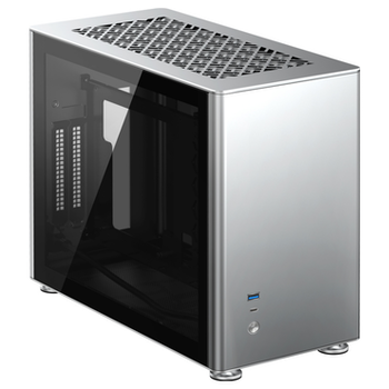 Product image of Jonsbo A4 Silver mITX Case - Click for product page of Jonsbo A4 Silver mITX Case