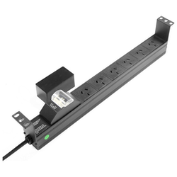 Product image of Power Shield 6 Way Horizontal Power Distribution Unit - Click for product page of Power Shield 6 Way Horizontal Power Distribution Unit