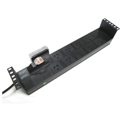 Product image of Power Shield 10 Way Horizontal Power Distribution Unit - Click for product page of Power Shield 10 Way Horizontal Power Distribution Unit