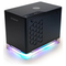 A small tile product image of InWin A1 Plus Black Mini-ITX Case w/ Tempered Glass Side Panel