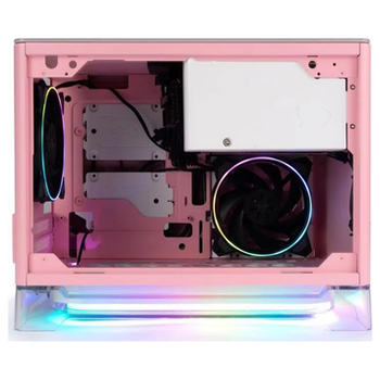 Product image of InWin A1 Plus Pink Mini-ITX Case w/ Tempered Glass Side Panel - Click for product page of InWin A1 Plus Pink Mini-ITX Case w/ Tempered Glass Side Panel