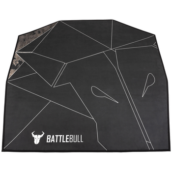 Product image of BattleBull Zoned Floor Mat - Black/White - Click for product page of BattleBull Zoned Floor Mat - Black/White