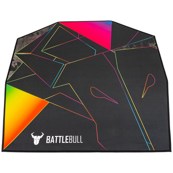 Product image of BattleBull Zoned Floor Mat - Multi/Black - Click for product page of BattleBull Zoned Floor Mat - Multi/Black