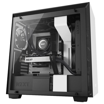 Product image of EX-DEMO NZXT H700 Matte White Mid Tower Case - Click for product page of EX-DEMO NZXT H700 Matte White Mid Tower Case