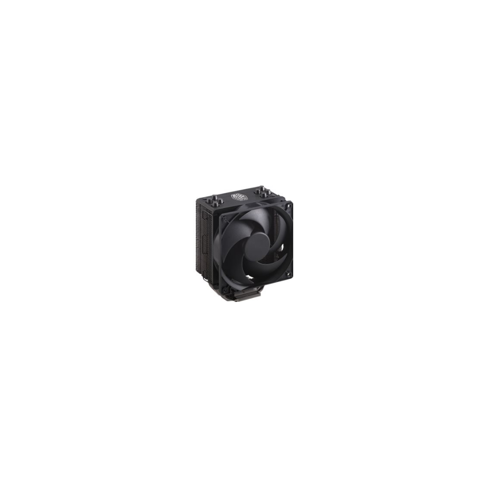 A large main feature product image of Cooler Master Hyper 212 Black Edition CPU Cooler