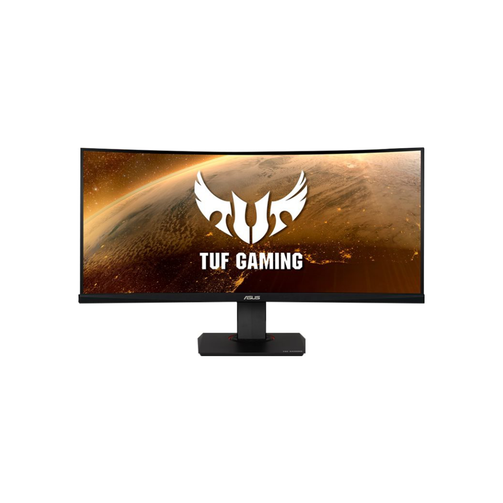 "A large main feature product image of ASUS TUF VG35VQ 35"" Ultrawide QHD Adaptive Sync Curved 100Hz 1MS HDR LED Gaming Monitor"