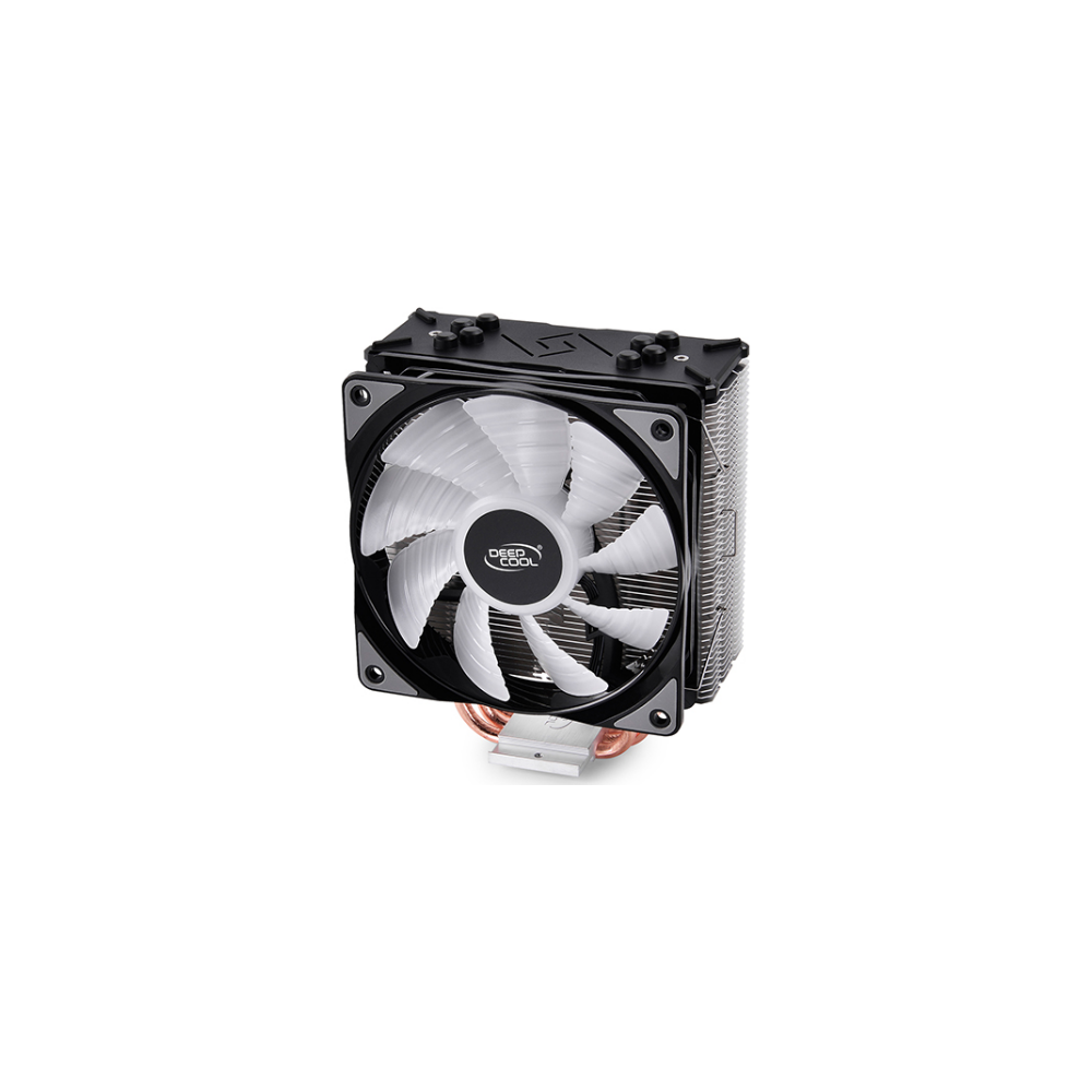 A large main feature product image of Deepcool Gammaxx GTE RGB V2 CPU Cooler
