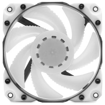 Product image of EK Vardar X3M 120ER D-RGB 120mm Fan - White - Click for product page of EK Vardar X3M 120ER D-RGB 120mm Fan - White
