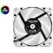 A small tile product image of EK Vardar X3M 120ER D-RGB 120mm Fan - White