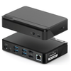 A product image of ALOGIC Universal TWIN HD PRO Docking Station with Power Delivery 85W