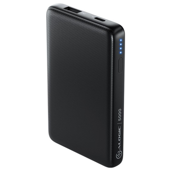 Product image of ALOGIC Rapid 5000mAh Power Bank - Black - Click for product page of ALOGIC Rapid 5000mAh Power Bank - Black