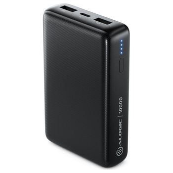 Product image of ALOGIC Rapid 10,000mAh Power Bank - Black - Click for product page of ALOGIC Rapid 10,000mAh Power Bank - Black