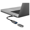 A product image of ALOGIC Super Ultra USB 3.1 USB Type-C To USB-A Adapter - Space Grey