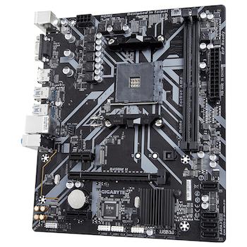 Product image of Gigabyte B450M-H AM4 mATX Desktop Motherboard - Click for product page of Gigabyte B450M-H AM4 mATX Desktop Motherboard