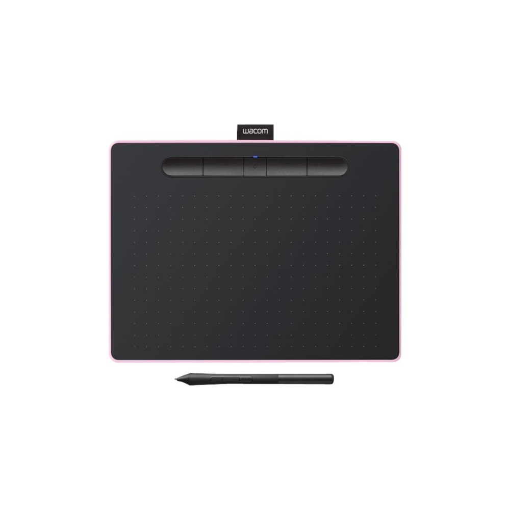 A large main feature product image of Wacom Intuos Medium Bluetooth Drawing Pad - Berry