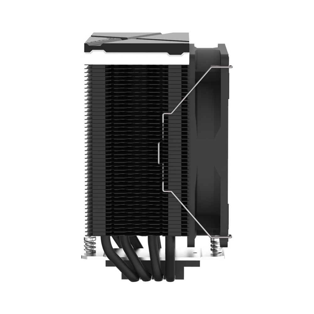 A large main feature product image of ID-COOLING Sweden Series SE-234-ARGB CPU Cooler