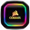 A small tile product image of Corsair iCue H100i RGB Pro XT AIO Liquid CPU Cooler