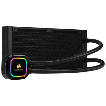 Product image of Corsair iCue H100i RGB Pro XT AIO Liquid CPU Cooler - Click for product page of Corsair iCue H100i RGB Pro XT AIO Liquid CPU Cooler
