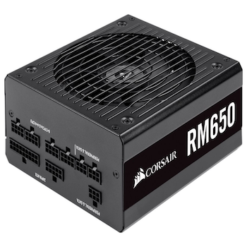 Product image of Corsair RM650 650W 80Plus Gold Modular Power Supply - Click for product page of Corsair RM650 650W 80Plus Gold Modular Power Supply