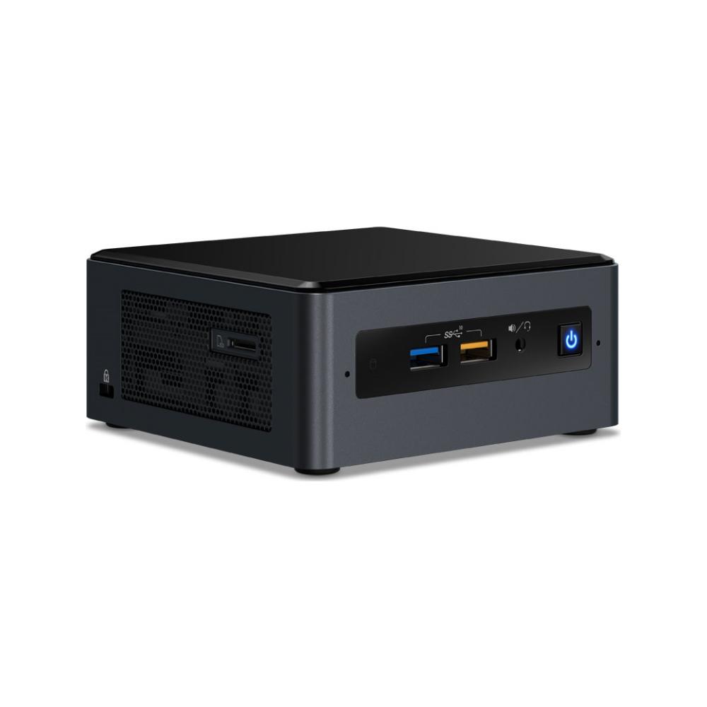 "A large main feature product image of Intel NUC Gen8 Bean Canyon Lite i5 Barebones Mini PC w/2.5"" Drive Bay"