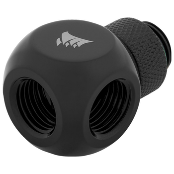 Product image of Corsair Hydro X Series XF AF Black Y-Splitter (G1/4) - Click for product page of Corsair Hydro X Series XF AF Black Y-Splitter (G1/4)