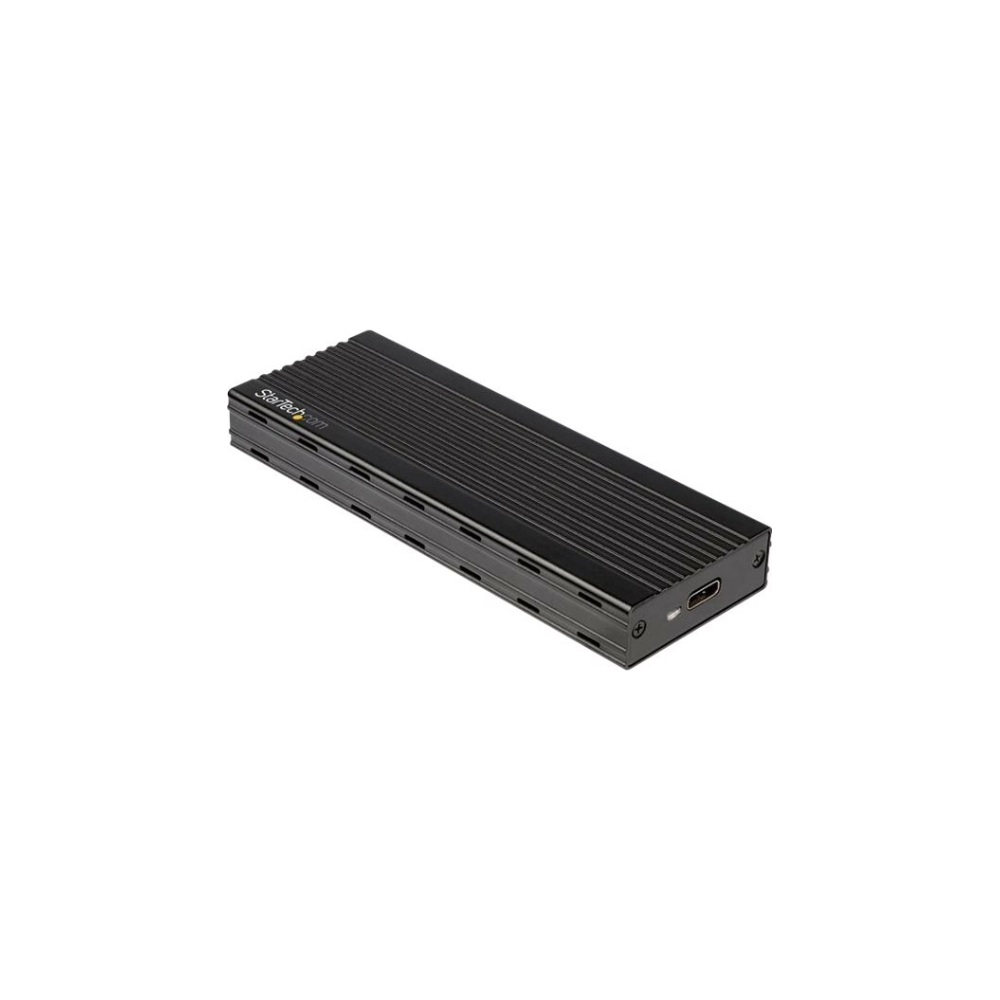 A large main feature product image of Startech M.2 NVMe SSD Enclosure for PCIe SSDs - USB 3.1 Gen 2 Type-C