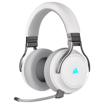 Product image of Corsair Gaming VIRTUOSO RGB Wireless Gaming Headset - White - Click for product page of Corsair Gaming VIRTUOSO RGB Wireless Gaming Headset - White