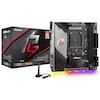 A product image of ASRock X570 Phantom Gaming-ITX/TB3 AM4 mITX Desktop Motherboard