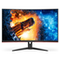"A small tile product image of AOC CQ32G2E 31.5"" WQHD FreeSync Curved 144Hz 1MS VA LED Gaming Monitor"