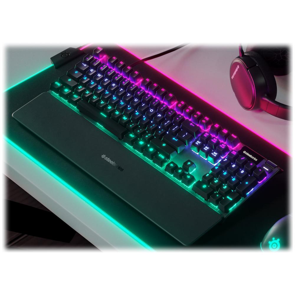 Buy Now Steelseries Apex 5 Gaming Hybrid Mechanical Keyboard Ple Computers