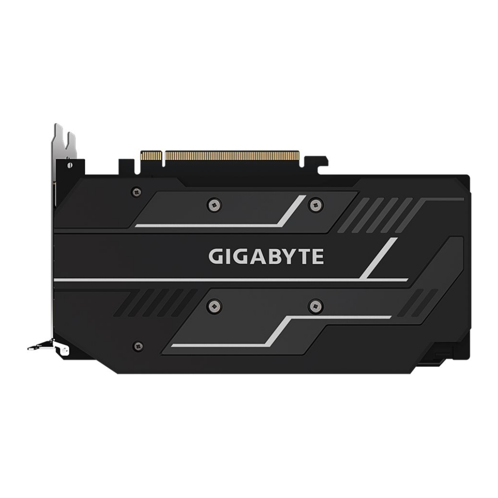 A large main feature product image of Gigabyte Radeon RX 5500 XT OC 8GB GDDR6