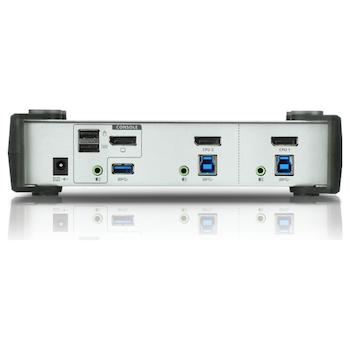 Product image of ATEN 2 Port USB 3.0 Displayport KVMP Switch - Click for product page of ATEN 2 Port USB 3.0 Displayport KVMP Switch