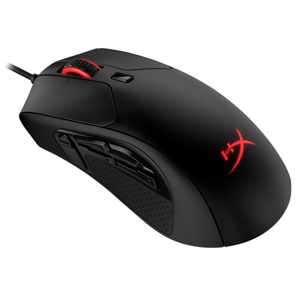A large main feature product image of Kingston HyperX Pulsefire Raid RGB Gaming Mouse